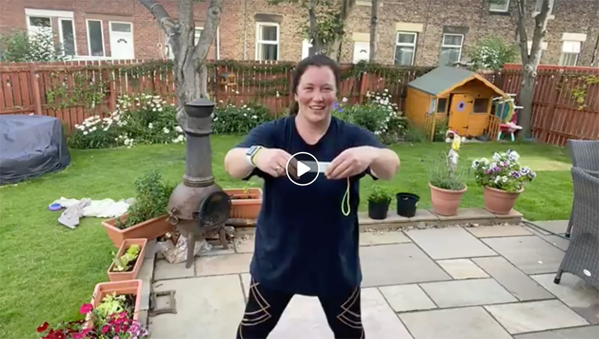 Donna Home Workout